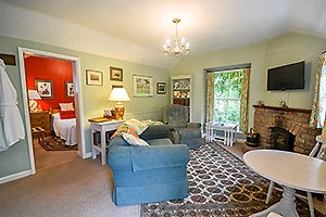 lounge in cottage
