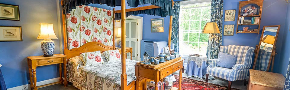 this bed and breakfast in ruthin north wales